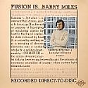 Barry Miles- Fusion Is...Barry Miles